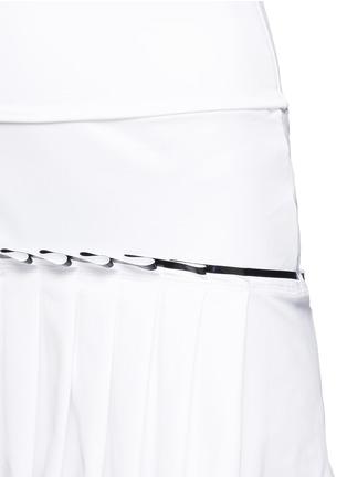 细节 - 点击放大 - MONREAL LONDON - 百褶裙摆弹力半身裙