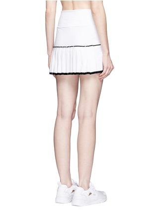 背面 - 点击放大 - MONREAL LONDON - 百褶裙摆弹力半身裙