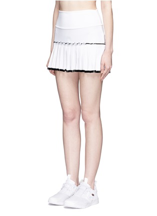 正面 - 点击放大 - MONREAL LONDON - 百褶裙摆弹力半身裙