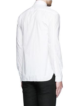 背面 - 点击放大 - NEIL BARRETT - 迷彩头巾印花纯棉衬衫