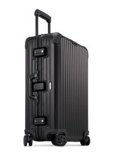 RIMOWA Topas Stealth Multiwheel®铝制行李箱(64升 / 26.8寸)