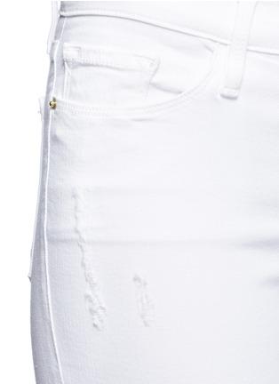 细节 - 点击放大 - FRAME DENIM - LE SKINNY DE JEANNE CROP九分修身牛仔裤