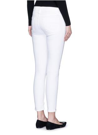 背面 - 点击放大 - FRAME DENIM - LE SKINNY DE JEANNE CROP九分修身牛仔裤