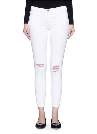 首图 - 点击放大 - FRAME DENIM - LE SKINNY DE JEANNE CROP九分修身牛仔裤
