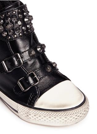 细节 - 点击放大 - 90115 - FROG儿童款铆钉搭带高筒球鞋