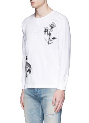 正面 -点击放大 - SAAM1 - 华南虎刺绣纯棉T恤
