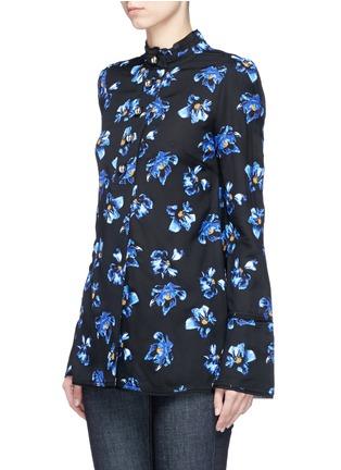 正面 - 点击放大 - PROENZA SCHOULER - 花卉图案喇叭袖上衣