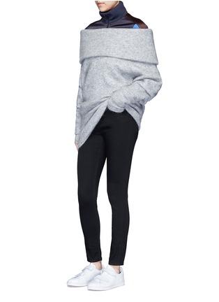 模特儿示范图 - 点击放大 - ACNE STUDIOS - SKIN 5水洗棉质修身牛仔裤