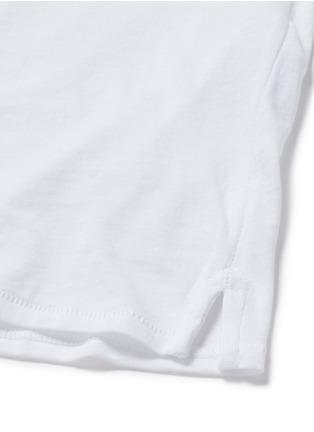 细节 - 点击放大 - RAG & BONE/JEAN - Boyfriend款纯棉T恤