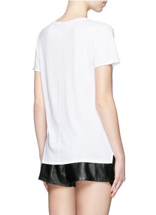 背面 - 点击放大 - RAG & BONE/JEAN - Boyfriend款纯棉T恤