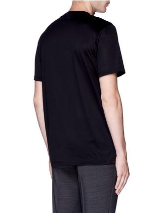 背面 - 点击放大 - LANVIN - 拼贴装饰纯棉T恤