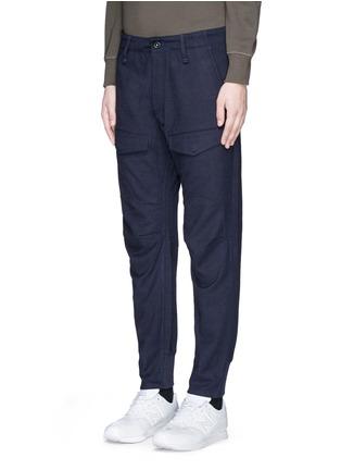 正面 - 点击放大 - DENHAM - MUNICH工装感拼接长裤
