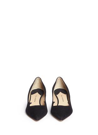 正面 - 点击放大 - PAUL ANDREW - ANKARA仿水晶鞋跟绒面皮高跟鞋