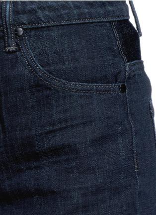 细节 - 点击放大 - HELMUT LANG - 原色纯棉牛仔短裤