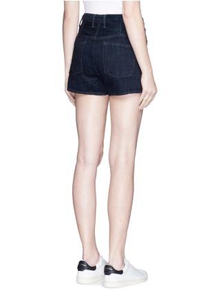 背面 - 点击放大 - HELMUT LANG - 原色纯棉牛仔短裤