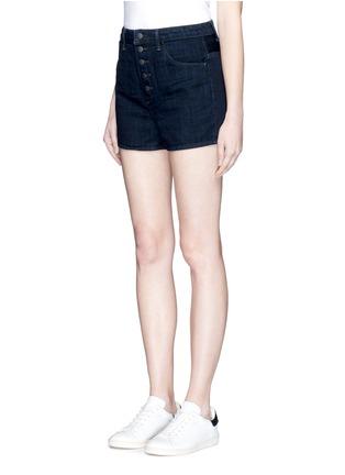 正面 - 点击放大 - HELMUT LANG - 原色纯棉牛仔短裤