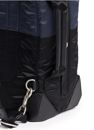 细节 - 点击放大 - ALEXANDERWANG - 多功能拼色背包