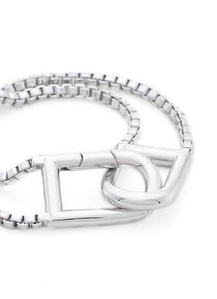 细节 - 点击放大 - Eddie Borgo - 双层细链环扣手链