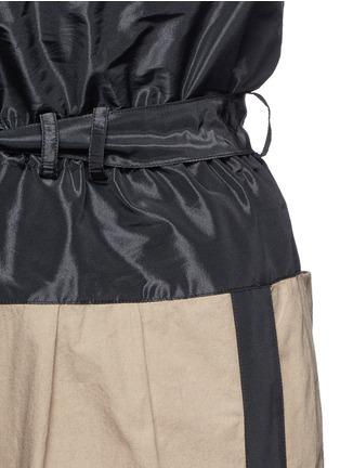细节 - 点击放大 - TOME - 条纹抽绳高腰长裤