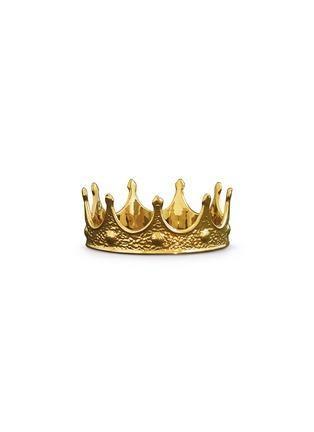 首图 –点击放大 - Seletti - MEMORABILIA GOLD瓷制皇冠装饰