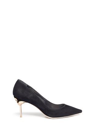 首图 - 点击放大 - SOPHIA WEBSTER - COCO FLAMINGO火烈鸟鞋跟绒面皮高跟鞋