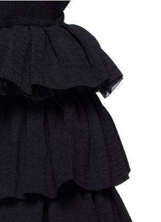 细节 - 点击放大 - MS MIN - 层次荷叶边半身裙