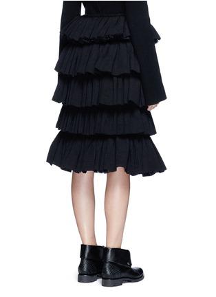背面 - 点击放大 - MS MIN - 层次荷叶边半身裙