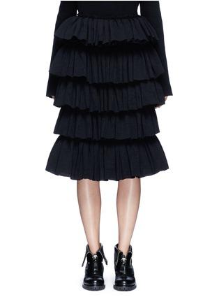 首图 - 点击放大 - MS MIN - 层次荷叶边半身裙