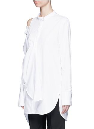 正面 -点击放大 - ELLERY - CASTELLI不对称拼接纯棉衬衫