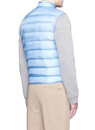 背面 - 点击放大 - Moncler - GUI立领绗缝羽绒背心