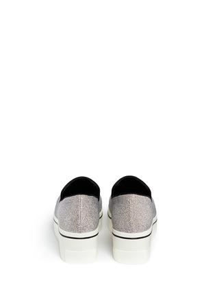 背面 - 点击放大 - STELLA MCCARTNEY - 闪粉厚底便鞋