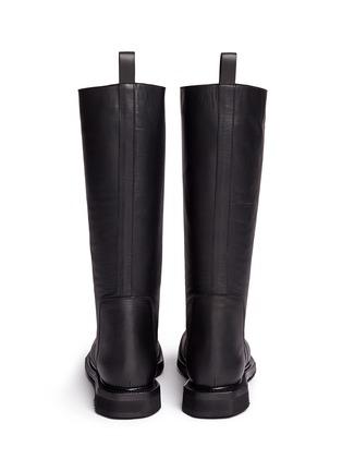 背面 - 点击放大 - RICK OWENS - 单色小牛皮长靴