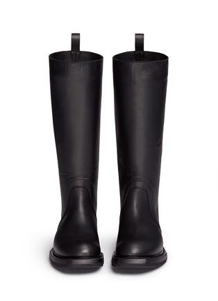 正面 - 点击放大 - RICK OWENS - 单色小牛皮长靴