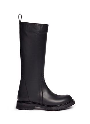 首图 - 点击放大 - RICK OWENS - 单色小牛皮长靴