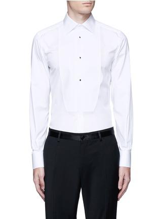 首图 - 点击放大 - DOLCE & GABBANA - 修身棉混丝礼服衬衫