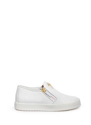 首图 - 点击放大 - GIUSEPPE ZANOTTI DESIGN - MAY LONDON真皮拉链运动鞋