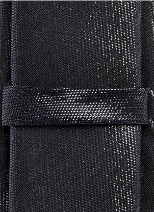 细节 - 点击放大 - GIVENCHY - 单色混丝领带