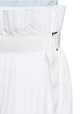 细节 - 点击放大 - SACAI - 百褶阔腿裙裤
