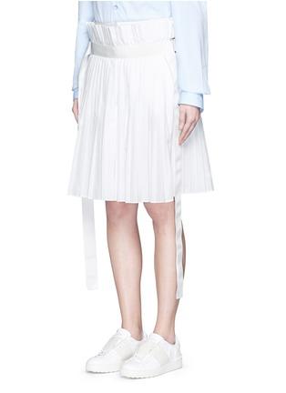 正面 - 点击放大 - SACAI - 百褶阔腿裙裤