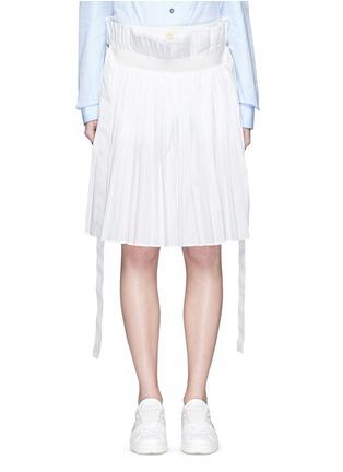 首图 - 点击放大 - SACAI - 百褶阔腿裙裤