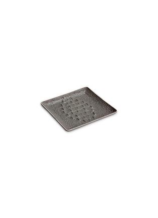 首图 –点击放大 - L'OBJET - 鳄鱼纹方形瓷碟