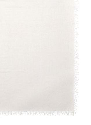 细节 - 点击放大 - ISABEL MARANT ÉTOILE - GEN莫代尔混羊绒毛边围巾