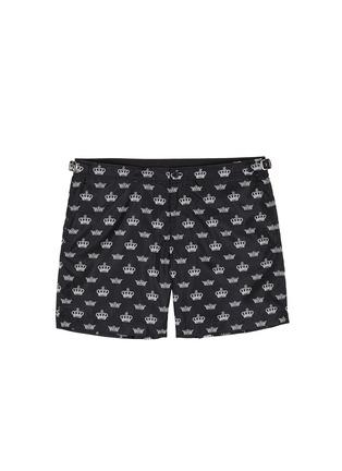 首图 - 点击放大 - DOLCE & GABBANA - 皇冠图案游泳短裤