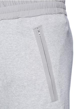 细节 - 点击放大 - ACNE STUDIOS - JOHNA拼接纯棉休闲裤