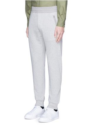 正面 -点击放大 - ACNE STUDIOS - JOHNA拼接纯棉休闲裤