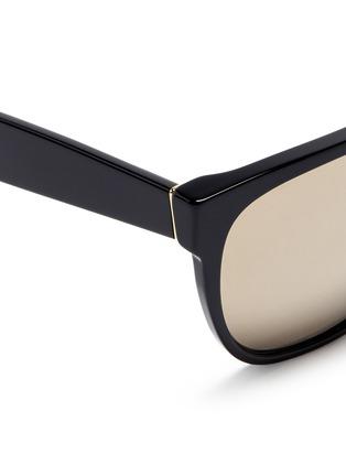 细节 - 点击放大 - SUPER - Classic中性款镜面镜片方框太阳眼镜