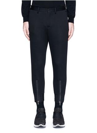 首图 - 点击放大 - NEIL BARRETT - 拉链装饰太空棉九分裤
