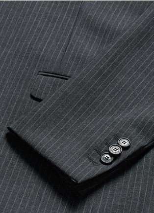 - NEIL BARRETT - 修身竖纹混羊毛西服套装