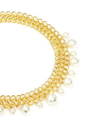 细节 - 点击放大 - KENNETH JAY LANE - 人造珍珠宽项链