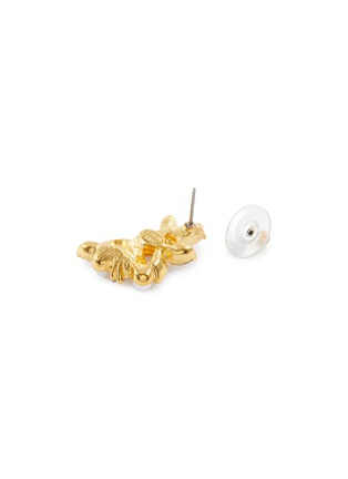 细节 - 点击放大 - KENNETH JAY LANE - 仿水晶花卉耳环